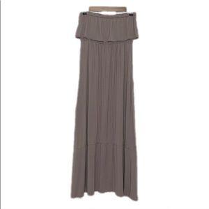 Melissa Odabash Strapless Maxi Dress Medium